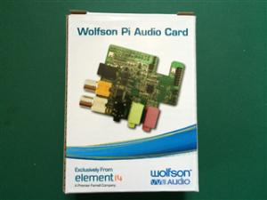 Wolfson Audio Card箱