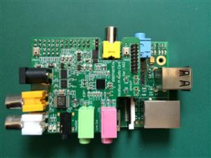 Wolfson Audio Card+Raspberry Pi