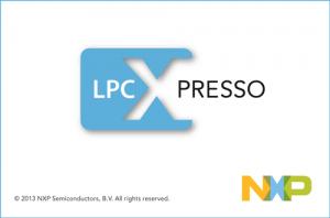 LPCXpresso画面