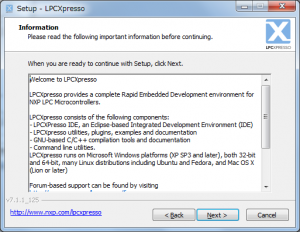 LPCXpressoインストール3