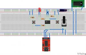 LPC810実装図1