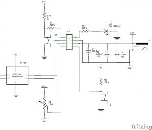 LPC810回路図1