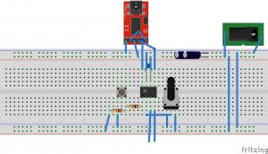 LPC810実装図2