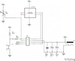 LPC810回路図2