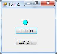 LPC810-GUI-LEDON