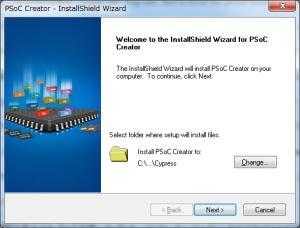 PSoC Creator Install